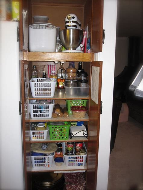 how to organize a pantry with deep shelves tip for how to organize the pantry and linen closet ask