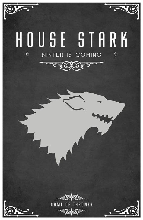 which game of thrones house are you tom gateley s beautiful minimalist game of thrones house