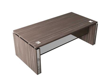 executive desk with buronomic executive desk with mesh modesty panel