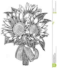sunflower wedding bouquet royalty free stock image image