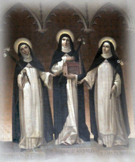 happy feast of bl diana d andalo bl cecilia and bl