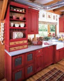 Kitchen Cabinets For Small Kitchens Red Kitchen Cabinets On Modern Design Traba Homes