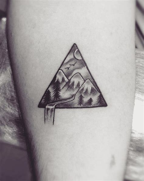 three triangle tattoo 65 best triangle designs meanings sacred