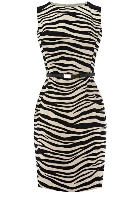 zebra design clothes oasis zebra print patched dress in animal multi coloured