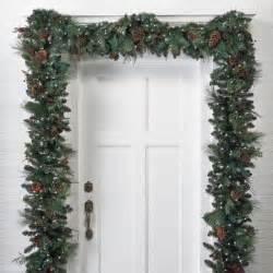 pre decorated christmas garland designcorner