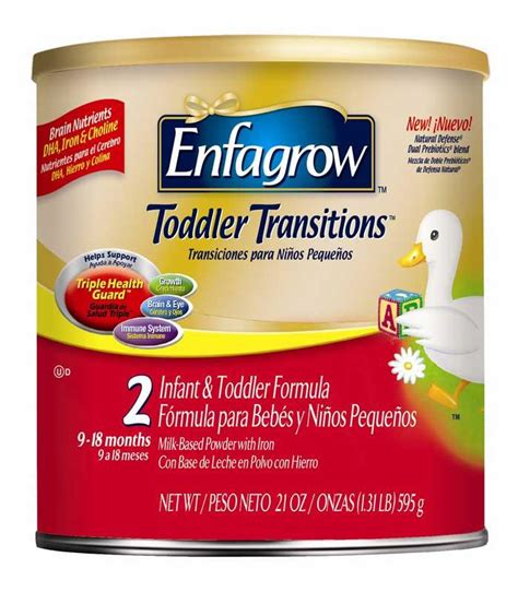 Enfagrow A 3 Vanilla enfagrow toddler next step vanilla for toddlers 1 year and up 72 ounce health