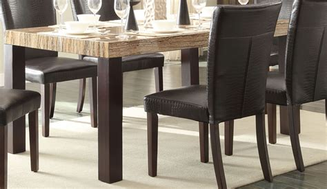 Faux Marble Dining Table Robins Faux Marble Dining Table 5105 66 Homelegance