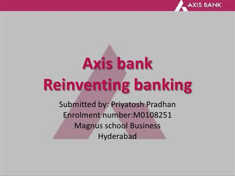 axis bank number thesis on axis bank