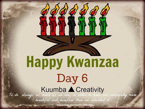 kuumba day 6 of kwanzaa get your creativity on