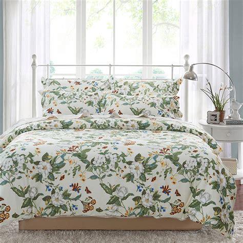 queen size floral comforter sets beige green floral bedding sets full queen size bed 4 pcs