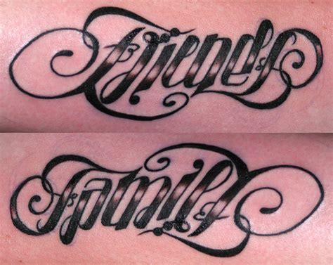 tattoo lettering reads both ways ambigram tattoos designs ideas and meaning tattoos for you