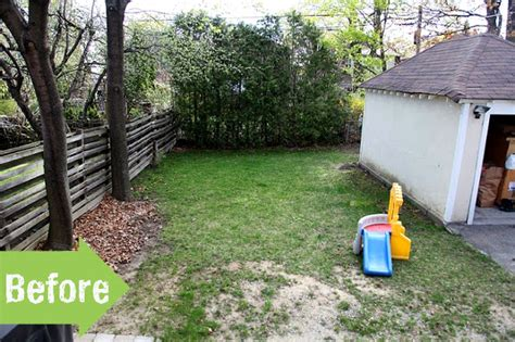 Small Backyard Ideas Before After Before After Shannon S Charming Backyard Retreat Pith