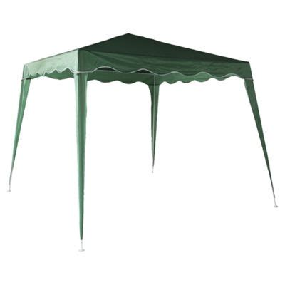 gazebo 4x2 buy tesco green garden gazebo 2 4x2 4m from our gazebos