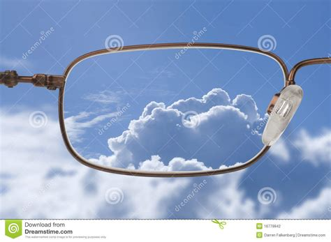 So Clear clear vision stock photo image of light view glass