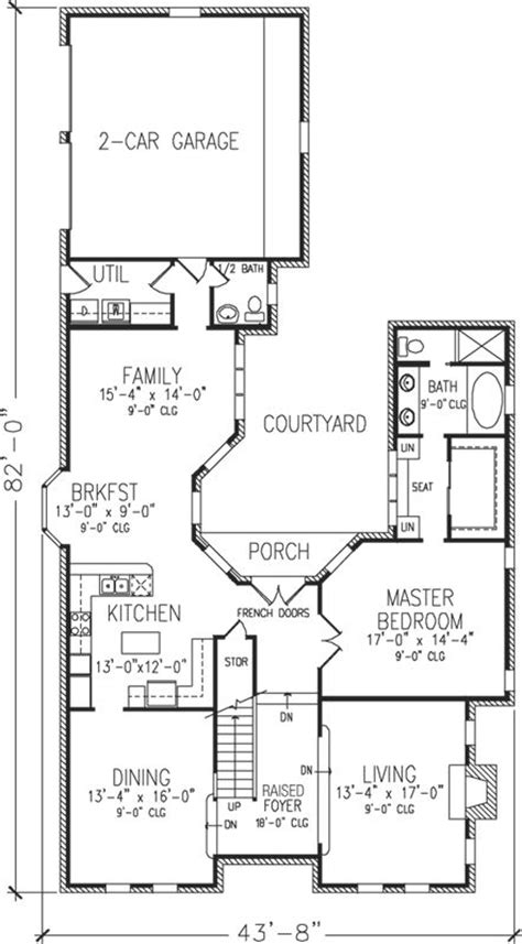 early american house plans early american style house plans 2505 square foot home