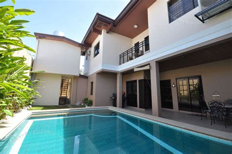 custom built home  private swimming pool philippines