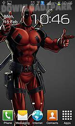 deadpool apk deadpool android live wallpaper free in apk