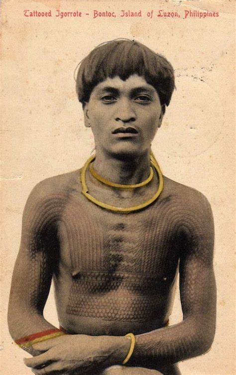 Tattoo History In The Philippines | file bontoc jpg wikimedia commons