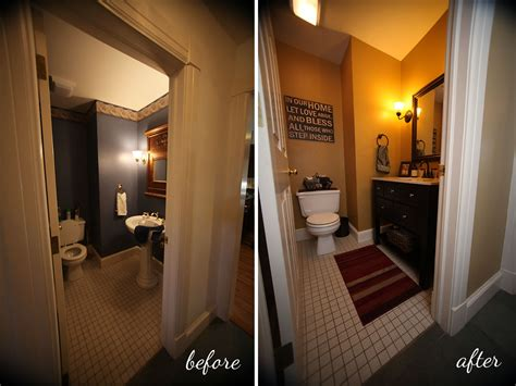 room makeovers powder room makeover powder room take two 2nd budget