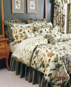 Waverly Bed Sets New Waverly Williamsburg Garden Images 4pc Comforter Set Ebay