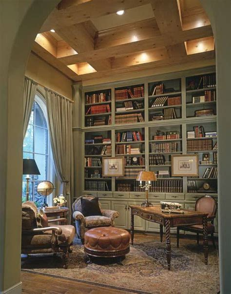 beautiful home libraries a library in a french style house bookcases run all the