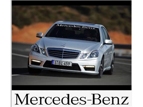 Aufkleber Auto Frontscheibe by Aufkleber Passend F 252 R Mercedes Benz Frontscheiben