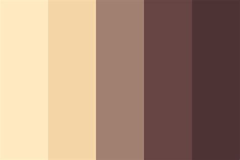 how to color white chocolate caramel chocolate color palette