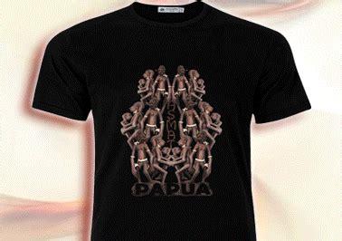 Koteka T Shirt honai papua