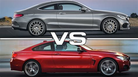 Bmw 2er Vs 4er Cabrio by Mercedes C Class Coupe Vs Bmw 4 Series Coupe
