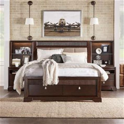 home depot bedroom furniture homesullivan nichols 3 piece brown queen bedroom set