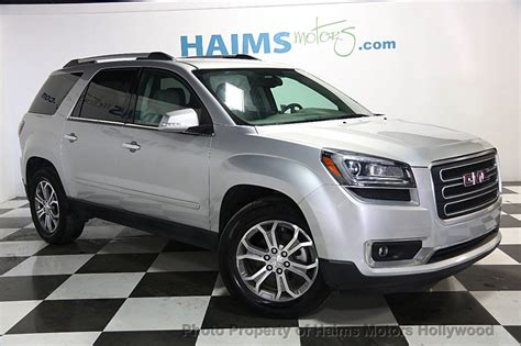 2016 gmc acadia 2016 used gmc acadia fwd 4dr slt w slt 1 at haims motors