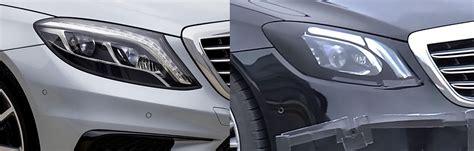 Headl Mercedes C Class Facelift 2018 mercedes s class facelift headlights fully