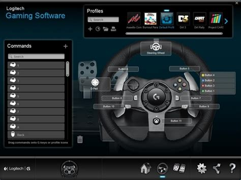 Gaming Setup Simulator by Program Buttons On The G29 And G920 Racing Wheels With
