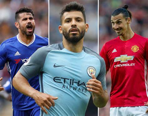 epl league top scorers premier league top scorer odds 2016 17 sport galleries