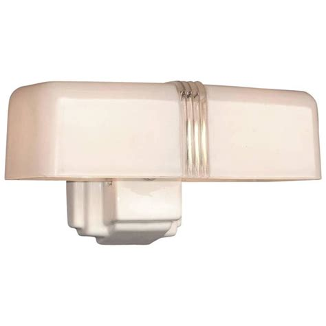 6 bulb bathroom light fixture 4 available 1930s two bulb white porcelain bathroom