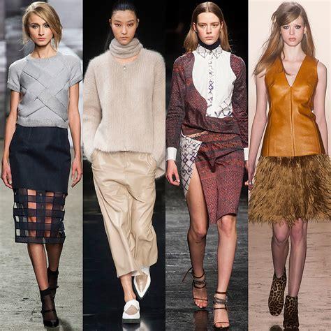 Fall Fashion Trends by Fashion Trends Fall 2014 New York Fashion Week Popsugar