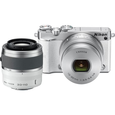 nikon 1 j5 mirrorless digital with 10 30mm and 30 110mm