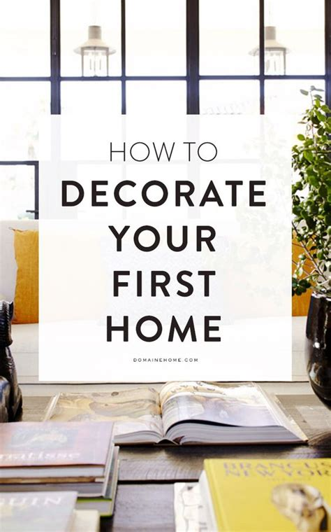 how to decorate your first house my web value