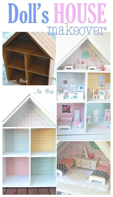 doll house paper doll s house makeover book shelves doll houses and scrap