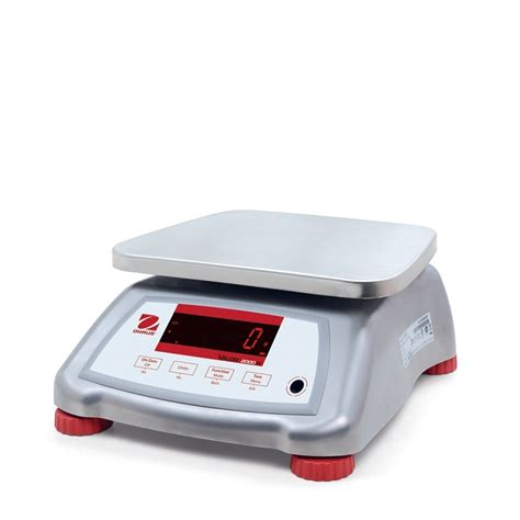 ohaus bench scale ohaus valor 174 2000 compact bench scales oh v22xwe6t am 15 x 002 lb 30035441 wd