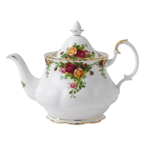 rose royal royal albert old country roses teapot large peter s of