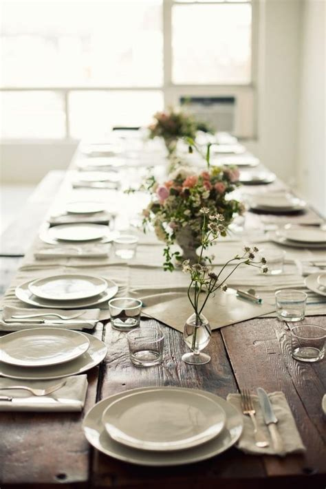 simple table setting simple table setting for the home pinterest