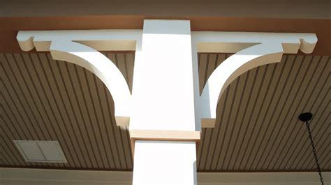 schemel auf hochdeutsch vinyl corbels and brackets custom large arch