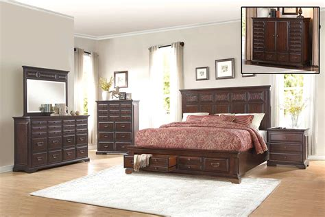 bedroom sets for less homelegance cranfills bedroom set cherry 1832 bedroom