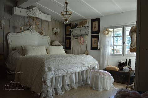 Style Shabby Chic Chambre by Une Chambre Romantique Shabby Chic Le Grenier D