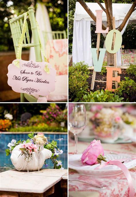bridal shower decorations themes outdoor vintage lace tea bridal shower bridal