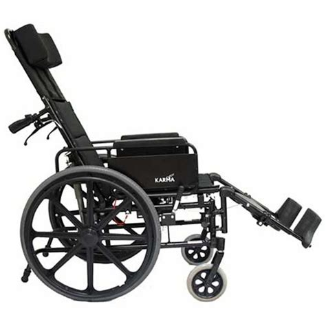recline wheelchair karman healthcare km 5000 ultralight reclining wheelchair