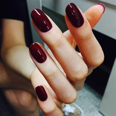 burgundy nail color nail unistella by ek lab i like burgundy nails