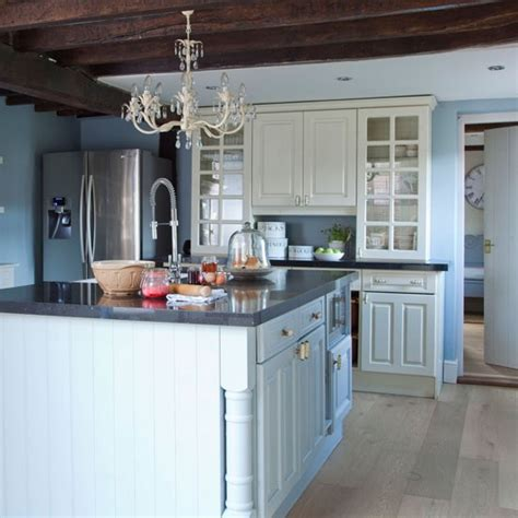 country blue kitchen cabinets stylish kitchen dressers kitchen sourcebook