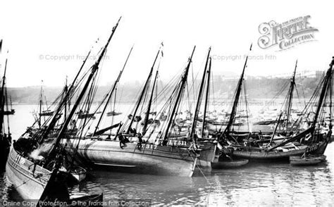 boat shop scarborough scarborough fishing boats 1890 francis frith